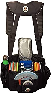 Disc Golf Cooler Bag with Removable Cooler & Comfortable Backpack Straps