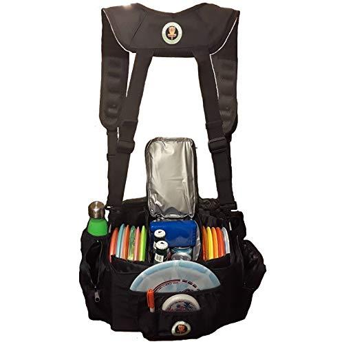 Disc Golf Cooler Bag with Removable Cooler & Comfortable Backpack Straps