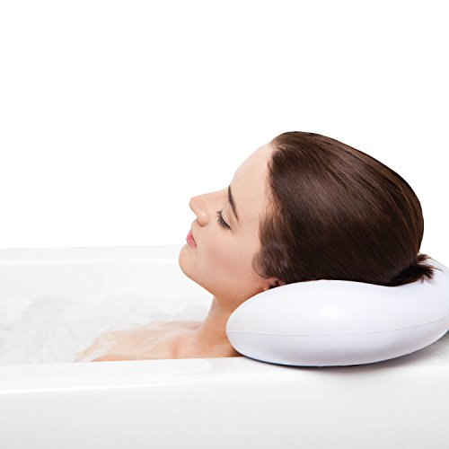 BEST BATH PILLOW Spa pillows with Suction Cups - Extra Firm and Best Quality - Supports Your Neck,...
