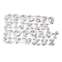 Abbraccia アルファベット文字カッティングダイステンシル金型エンボステンプレート
