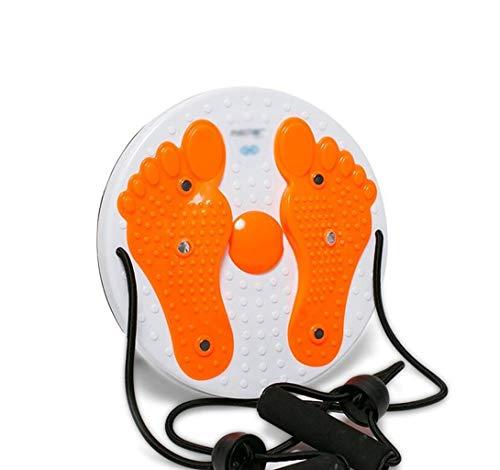 Schlanke Taille Scheibe Shiatsu Magnetic verdrehtes Taille Board Heim Kunststoff fettreduzierende Fitnessgeräte Taille Zwirnmaschine Kunststoff Heatmap nach Hause Fitnessgeräte Massage ( Color : G )