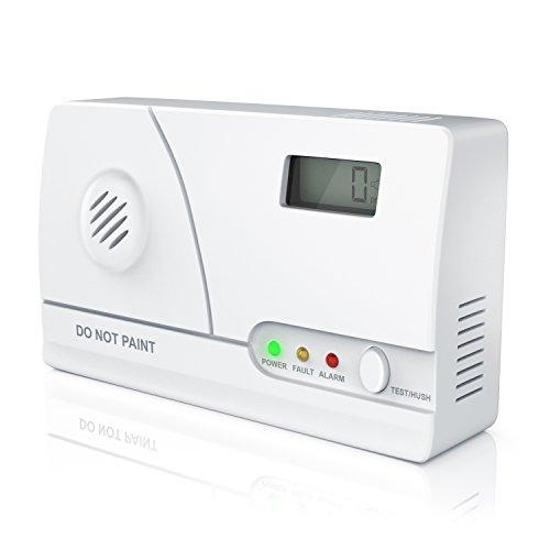 Brandson - Carbon Monoxide Alarm - CO Alarm System...