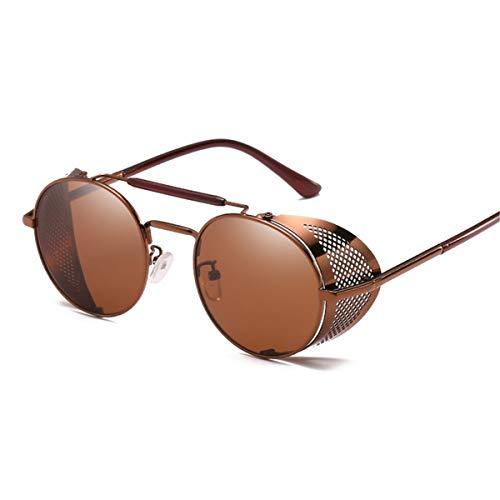 Magnifier Gafas de Sol polarizadas Hombres Mujeres Gafas de Sol Retro Hombre/Aire Libre Deportes Golf Ciclismo Pesca Senderismo Gafas Gafas de Sol,E