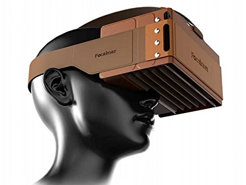 Best Price Headset VR, Focalmax Foldable 3D VR Glasses with Comfortable Leather Texture, Virtual Rea...