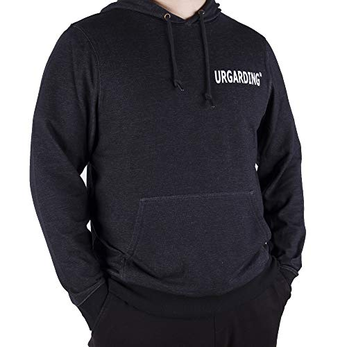 UrGarding EMF Shielding Pullover Hoodie, Double Layer of Silver Fabric for Double Radiation Protection (Black, Medium)