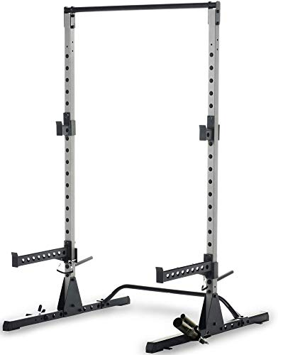 Fitness Reality Multi-function, Adjustable Power Rack Squat Stand with...