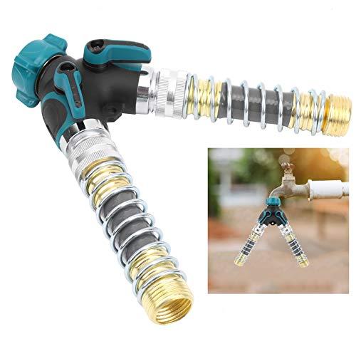 Conectores de manguera, divisor de manguera de agua Conector de manguera duradero, conectores de manguera de agua Divisor de manguera de jardín para tubería de agua de grifo