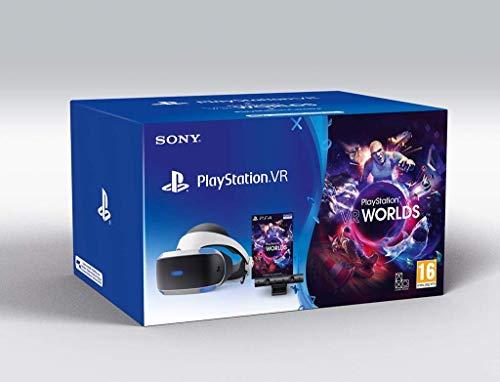 Playstation VR Virtual Reality Brille + Kamera + VR Worlds V2