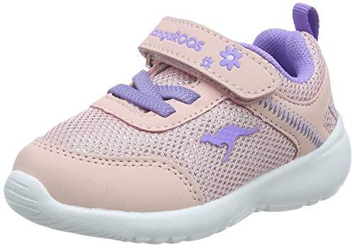 KangaROOS Unisex Kinder KC-Flight EV Sneaker, Rot (Frost Pink/Lavender 6014), 27 EU