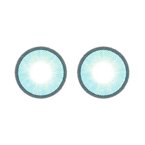 Swiftgood EIN Paar/Satz charmante und schöne feuchtigkeitsspendende Farbe Runde große Augen Beauty Kontaktlinsen Beauty Tools Brille