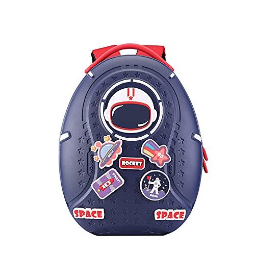 YUNTAB Mochila de aire a la moda con ideas de bricolaje para niños, mochila ligera para niños pequeños, mochila escolar para jardín de infantes para niños mayores de 3 años y niñas (azul)