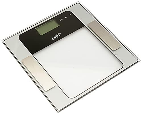 Balança Medição de água, gordura, massa muscular e massa óssea mod.: Glass 7, G-Tech
