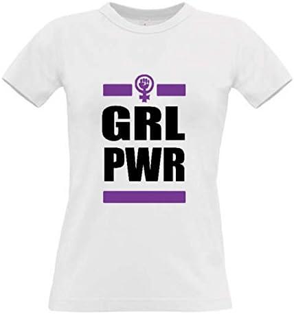 Camiseta Girl Power Feminismo Algodon Premium 190grs