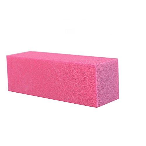 10 pcs/lot Eponge à ongles manucure polissage Bloc de mémoire tampon de ponçage fichiers Salon Art polisseuse Outil