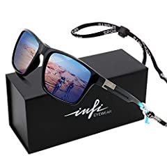 ►High Polarized ------ HD fishing sunglasses for men more than 99.5% polarizing effect ►High weathering-resistance ----- Quality Polarized running sunglasses perfoms stably at high temperatures,at low temperatures,and in humid environments for runnin...