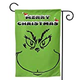 """Zebraprime Double Sided How The G-rinch S-tole Christmas Seasonal Outdoor D¨¦cor Decorative Large Flag for Holiday 12.5""""x18"""""""