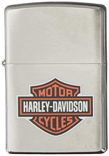 Imagen del productoZippo Harley Davidson 60001254 - Mechero, color brushed chrome