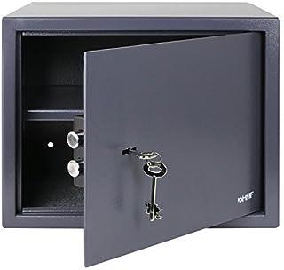 HMF 49203-11 Caja Fuerte Cerradura De Doble Paletón, 38 x