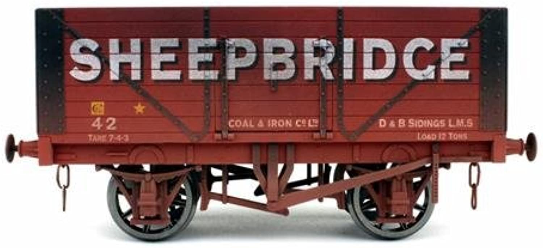 Dapol 7F080031W 8 Plank Wagon Sheepbridge 42 Weathered