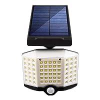 66 LED穂軸太陽壁面ライト屋外人間の誘導調節可能な光防水太陽電池パネルのスポットライトのための庭の通り3モード