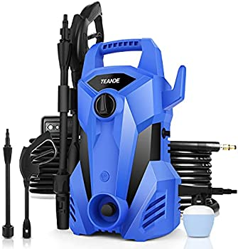 TEANDE 2300PSI 2.2GPM Electric1400W Portable Power Pressure Washer