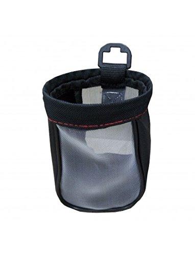 Simply DH02 - Soporte de Tela para Bebidas y Bolsa de Almacenamiento, para vehículo, se Adapta a Tazas, Vasos, latas, Botellas, etc, diámetro de hasta 9 cm, Dos Opciones de Ajuste