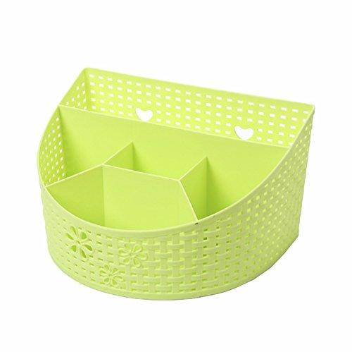 Pozi paniers de rangement Petit, fraîche et pratique boîte de rangement Boîte de rangement de haute qualité, 1PC vert