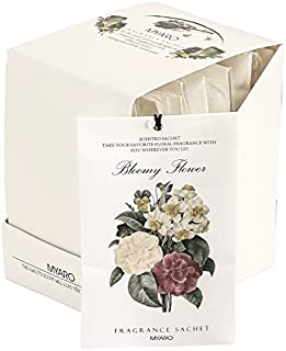 MYARO 12 Packs Jasmine Scented Sachets for Drawer and Closet