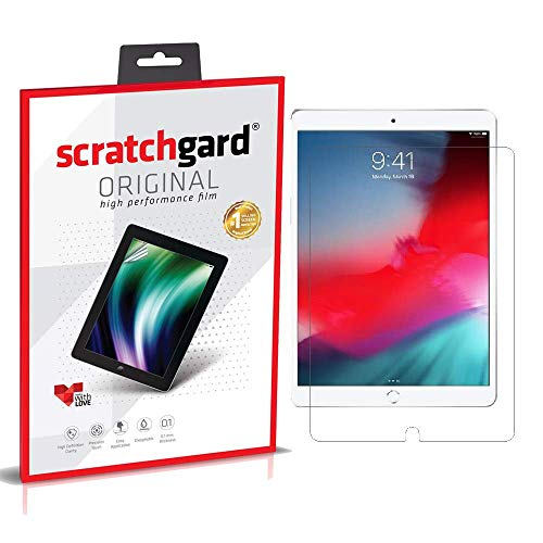 Scratchgard Anti-Bubble & Anti-Fingerprint High Definition (HD) Clear PET Screen Protector for Apple iPad Air 3 (2019)