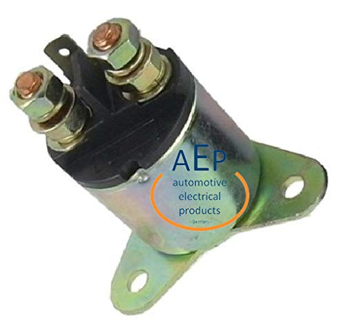 Magnetschalter Starterrelais ersetzt u. A. 182800-1570, 182800-1950 sowie 31204-ZA0-003 - geeignet für 12V Anlasser für u.A. Motor GXV340