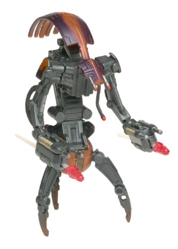 Star Wars Destroyer Droid GEONOSIS Battle with Firing Cannons Attack of The Clones Action Figure & Accessories