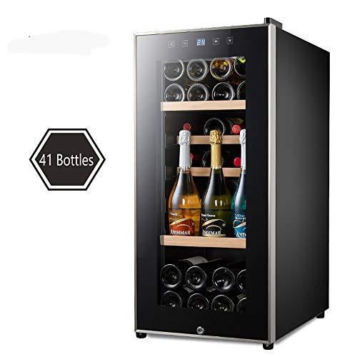 MSG ZY wijnkoeler, roestvrij stalen wijnkelder, digitaal display, constante temperatuur en vochtigheid, geen geluid en geen trilling, wijnkast die kan ademen
