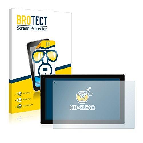 BROTECT Schutzfolie kompatibel mit Blaupunkt Endeavour 101M (2 Stück) klare Bildschirmschutz-Folie