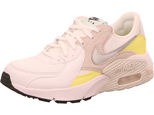 Nike Wmns Air MAX Excee, Zapatillas Mujer, White Mtlc Platinum Lt Citron, 40 EU
