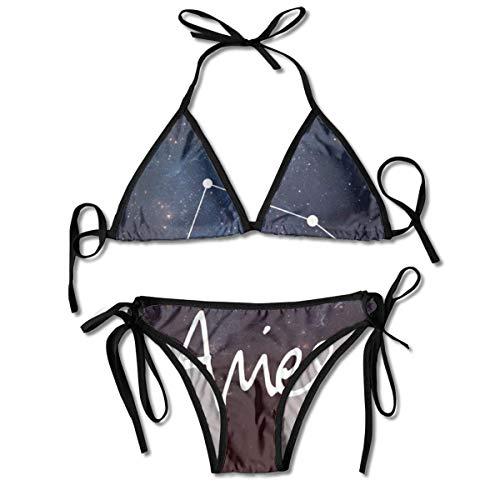 Web--ster Suzen95 Aries Damen Sexy Bikini Set Badeanzug