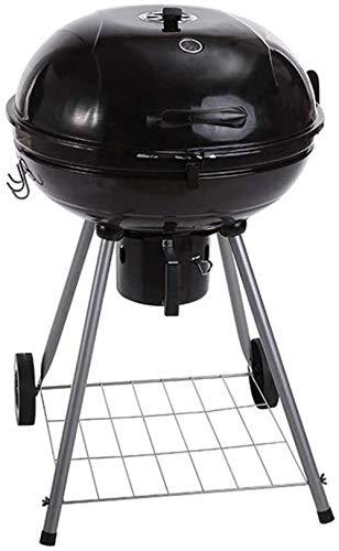 RUE DU COMMERCE Barbecue à charbon sur chariot ORLANDO