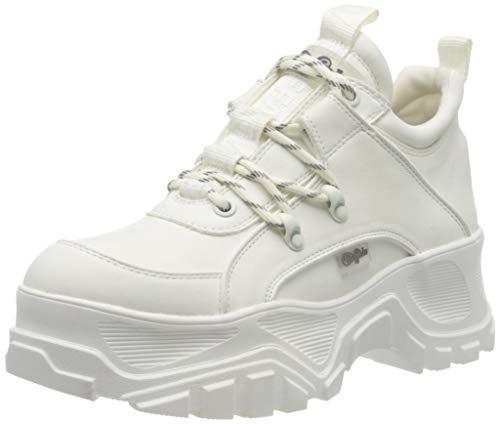 Buffalo Matrics CT, Zapatillas Altas para Mujer, Blanco (White 000), 38 EU