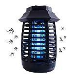 GCHH Electronic Mosquito Killer Lamp, Electrico Mosquitos Killer Outdoor Outdoor Insect Killer, Mosquito Trap, Bug Zapper con Luz UV, Luces De Camping para Acampar Senderismo Pesca
