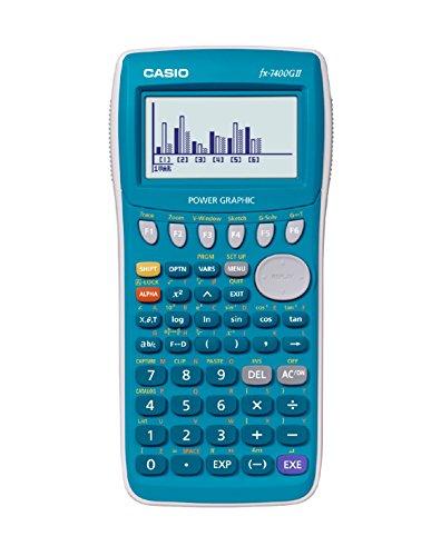 Casio FX-7400G II Grafikrechner, türkis