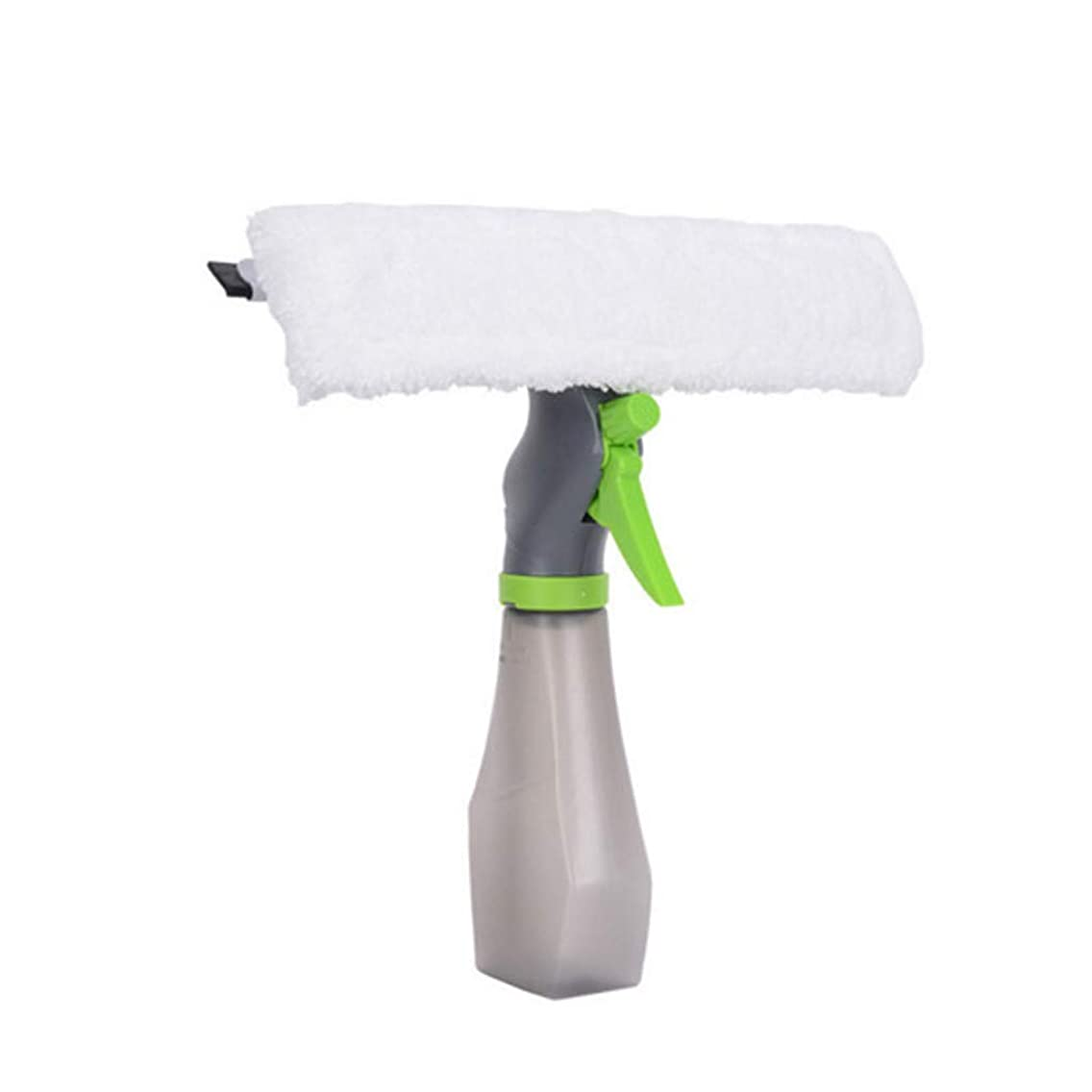 ?BBtime?3 in 1 Window Cleaner Auto Car Spray Bottle Wiper Squeegee Vehicle Windshield Wiper Blade Microfibre Cloth Pad Kit Indoor & Outdoor Window Cleaner Tool for House Shower Car - hot sale (White)