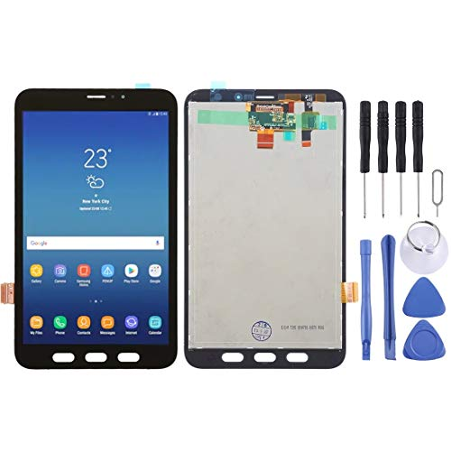 CGOH LCD Screen and Digitizer Full Assembly for Galaxy Tab Active2 8.0 LTE / T395(Black) Black