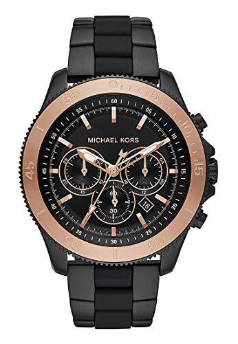 Michael Kors Reloj Cronógrafo para Unisex Adultos de Cuarzo con Corre