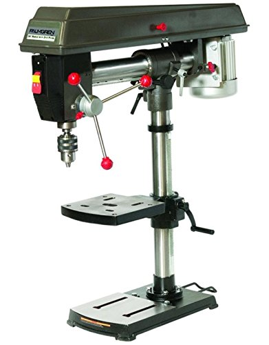 Fantastic Prices! Palmgren Machine 9680341 Radial Arm - 5 Speed Bench step pulley drill press