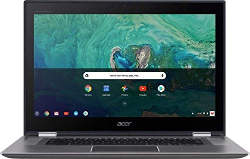 Acer - Spin 15 2-in-1 15.6' Touch-Screen Chromebook - Intel Pentium - 4GB Memory - 64GB Solid State Drive - Sparkly Silver (Renewed)