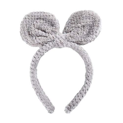 Turbantes Headband Diademas para Mujer Turbantes Nueva Diadema con Nudo De Lazo De Invierno para Mujer, Diadema De Maqui
