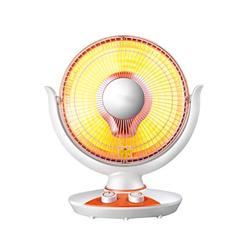 ZZ Heaster ventilatorkachel, schudden, donker licht, geluidsarm, veilig en duurzaam, energiebesparende kleine elektrische verwarming voor thuisgebruik