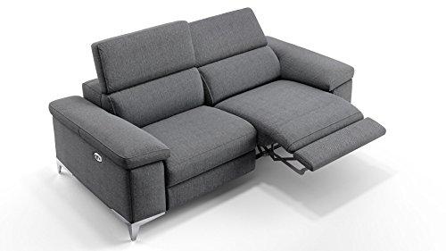 Designer Stoff Sofagarnitur Couchgarnitur 2-Sitzer Sofa Couch Polstersofa Polstergarnitur