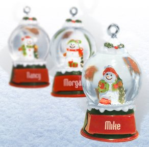 Glass Personalized Christmas Ornament