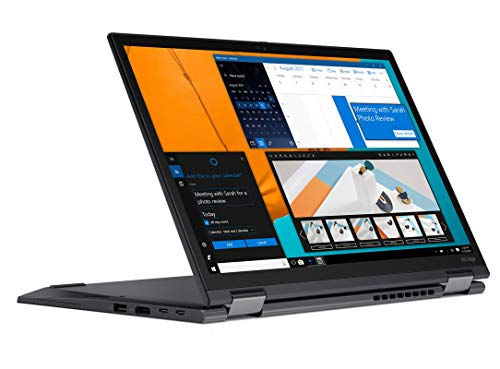 Lenovo ThinkPad X13 Yoga Gen 1 - Portátil Táctil Convertible 13.3' FullHD (Intel Core i5-10210U, 8GB RAM, 256GB SSD, Intel UHD Graphics, Windows 10 Pro) ThinkPad Pen Pro, Negro- Teclado QWERTY Español