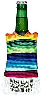 Cinco De Mayo Rainbow Striped Fabric Bottle Cover, 12 Oz. | Party Accessory